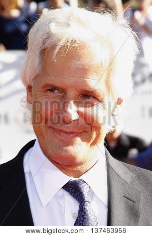 Chris Carter at the Los Angeles premiere of 'The X-Files: I Want To Believe' held at the Grauman's Chinese in Hollywood, USA on July 23, 2008.