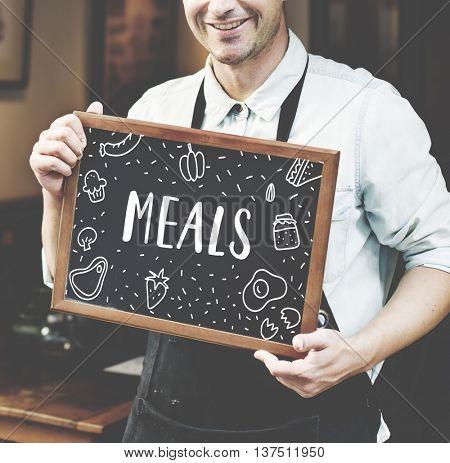 Foodie Gourmet Cuisine Eat Meals Concept