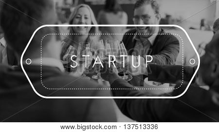 Startup Business Together Plan Development Concept