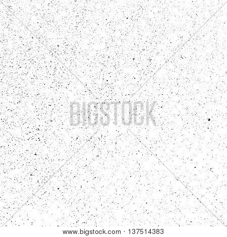 Distress Overlay Texture For Making Your Design Shabby And Aged. Dust And Grain Empty Grunge Background. EPS10 vector.