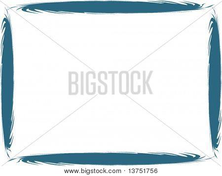 A swirl vector border