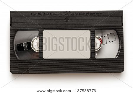 Black Video Cassette