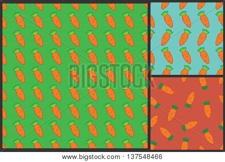 carrot pattern, kids pattern, carrot background, summer pattern, food pattern, vegetarian wrapping with carrot, kids background