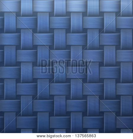 Blue graphic digital knit backdrop background texture