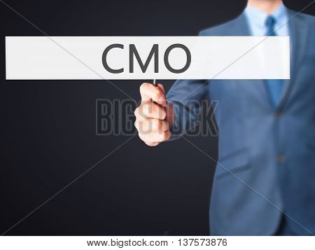 Cmo - Business Man Showing Sign