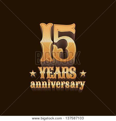 15 Years Anniversary Vector Photo Free Trial Bigstock