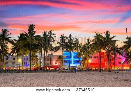 Miami Beach, Florida poster