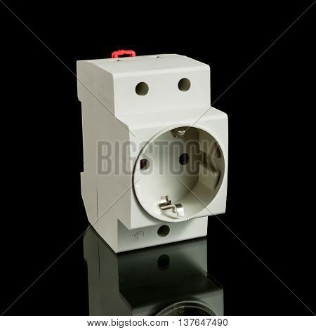 Electrical Socket For Din-rail Mounting
