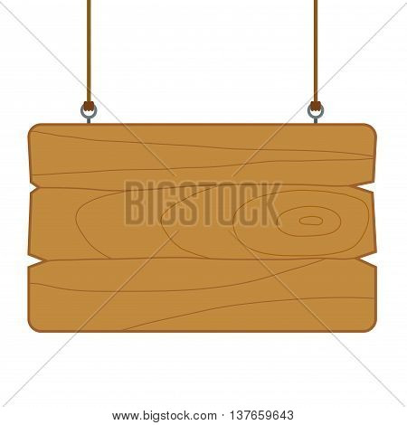 Vector stock of blank wooden sign board wood textured template