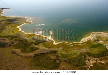 Aeiral Eagle Lake Cove
