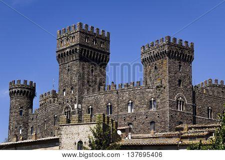Castle Torre Alfina - Viterbo ( Italy )