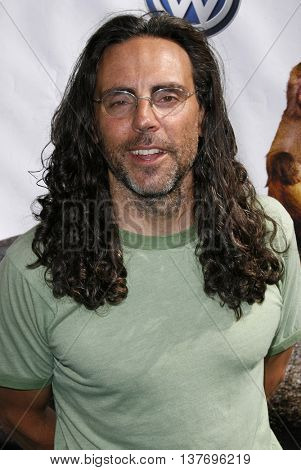 Tom Shadyac at the World premiere of 'Evan Almighty' held at the Universal Citywalk in Universal City, USA on June 10, 2007.