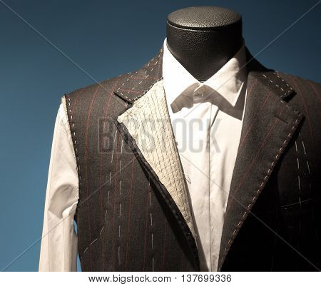 Tailors Suit On Dummy