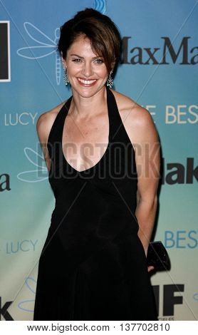 Amy Brenneman at the Women In Film Presents The 2007 Crystal and Lucy Awards held at the Beverly Hilton Hotel in Beverly Hills, USA on June 14, 2007.