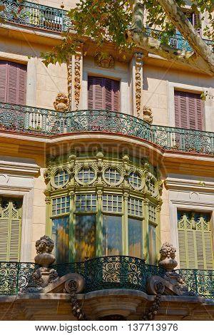 Casa Casarramona In Passeig De Gracia In Barcelona