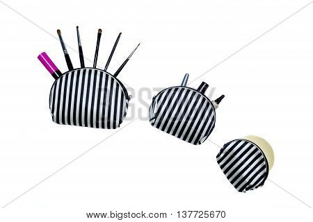 Professional makeup brush set accessory blusher body