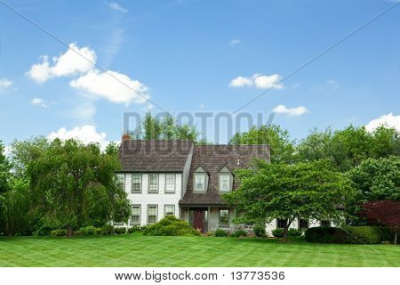 Suburban Single Family House