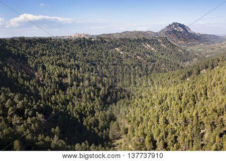 Views of Horta de Sant Joan. Spains