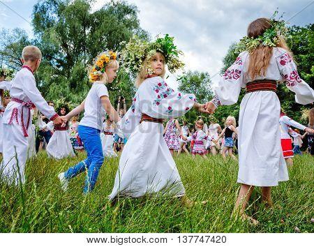 Traditional Slavic Celebrations Of Ivana Kupala
