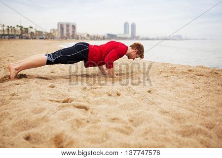 Doing The Push-ups