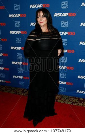 NEW YORK-NOV 17: Songwriter Holly Knight attends the ASCAP Centennial Awards at The Waldorf Astoria on November 17, 2014 in New York City.