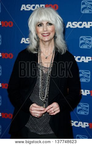 NEW YORK-NOV 17: Singer Emmylou Harris attends the ASCAP Centennial Awards at The Waldorf Astoria on November 17, 2014 in New York City.