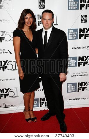 NEW YORK-SEP 27: Producer Dana Brunetti (r) and guest attend