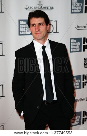 NEW YORK-SEP 27: Screenwriter Billy Ray attends opening night gala of the 2013 New York Film Festival at the premiere of