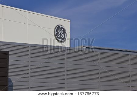 Lafayette, IN - Circa July 2016: General Electric Aviation Facility. GE Aviation is a Manufacturer of LEAP Jet Engines VI
