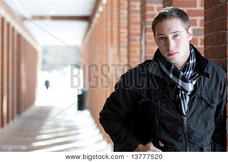 Young College Student