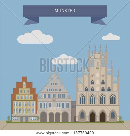 Munster, City In Germany