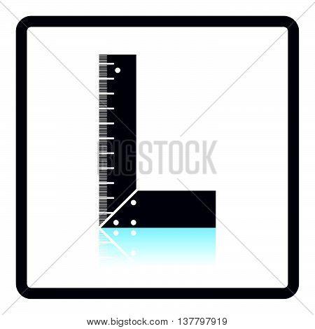 Icon Of Setsquare