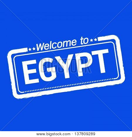 an images of Welcome to EGYPT illustration design