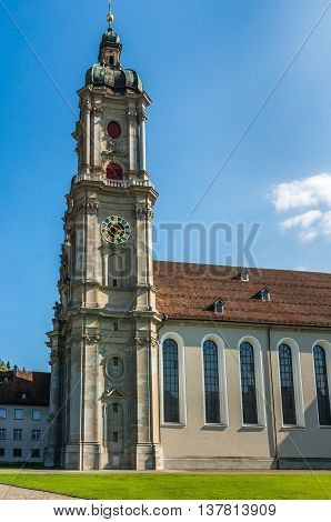 Abbey Of Saint Gall - The Catholic Cathedral In Switzerland