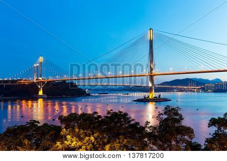 Ting Kau suspension bridge