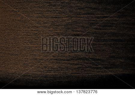 Sandy Wave Isolated On Black Background.