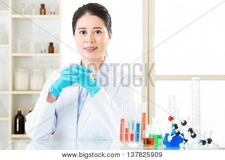Asian Female Scientist Know The Answers Are All In The Details