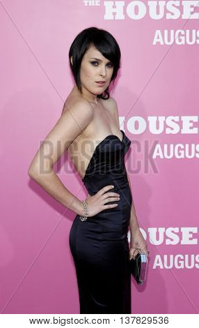 Rumer Willis at the Los Angeles premiere of 'The House Bunny' held at the Mann Village Theater in Westwood, USA on August 20, 2008.