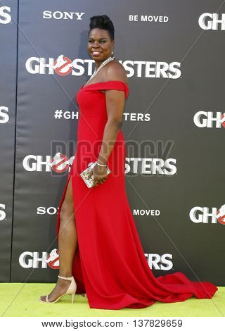 Leslie Jones at the World premiere of 'Ghostbusters' held at the TCL Chinese Theatre in Hollywood, USA on July 9, 2016.