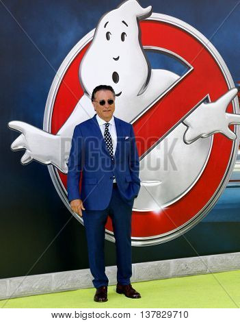 Andy Garcia at the World premiere of 'Ghostbusters' held at the TCL Chinese Theatre in Hollywood, USA on July 9, 2016.