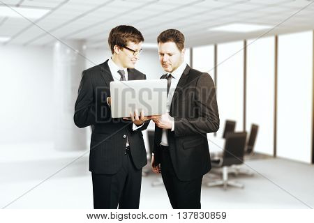 Businessmen Discussing Project