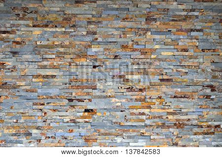 old brick wall exterior background at Georgia, USA.