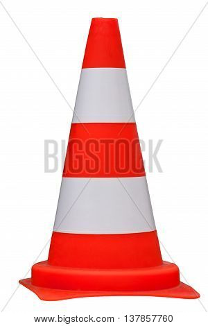 Traffic cone traffic cone isolated on white background clipping path