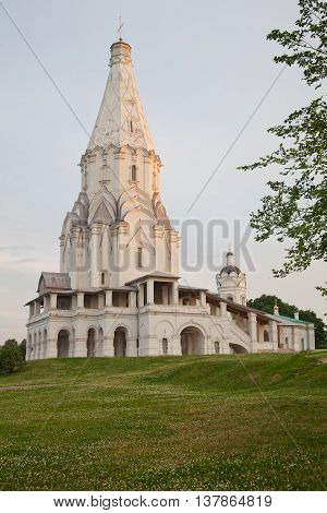 Moscow. Church of the Ascension in Kolomenskoe.