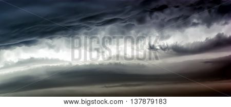 fluffy cloud on sky dramatic cloudy sky background