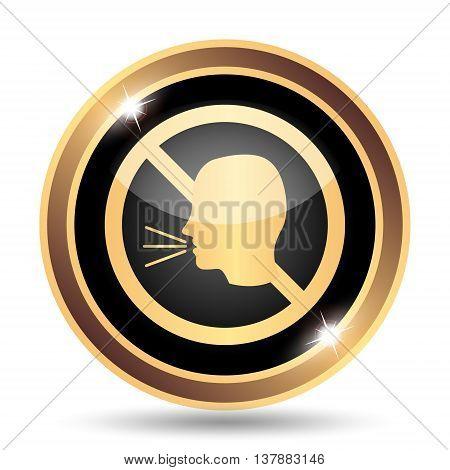 No Talking Icon