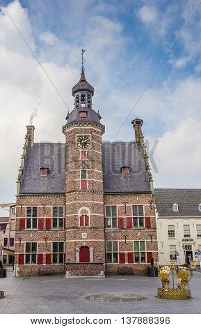 Medieval building of museum het Petershuis in Gennep the Netherlands