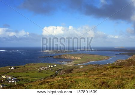 view of dingle peninsula - Ireland europe