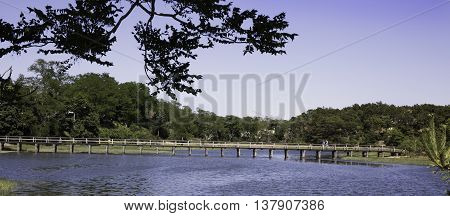 Uncle Tim's Bridge at Duck Creek in Wellfleet, MA Cape Cod