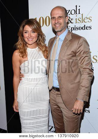 LOS ANGELES - JUL 9:  Sasha Alexander and Edoardo Ponti arrives to the